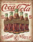 Coca-Cola 5 Bottles Retro